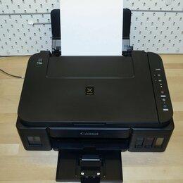 Принтеры и МФУ - Canon Pixma G3400 мфу Принтер С снпч рабочий, 0