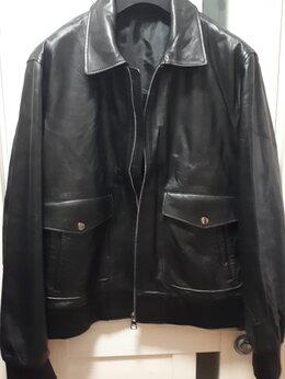 Куртки - Куртка кожаная First Man новая, 0