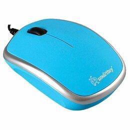 Мыши - Мышь проводная Smartbuy 313 Blue/Silver (SBM-313-BS) новая, 0