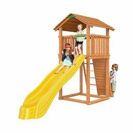 Игровые и спортивные комплексы и горки - Детская площадка Jungle Cottage JC1 Голландия, 0