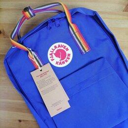 Рюкзаки - Рюкзак Kanken Classic Rainbow (Blue), 0