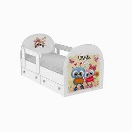 """Кроватки - Кровать детская односпальная """"Совята"""", 0"""