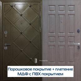 Входные двери - Дверь металлическая входная декорирована…, 0