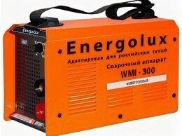 Сварочные аппараты - Сварочный аппарат инверторного типа Energolux…, 0