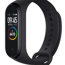 Умные часы и браслеты - Фитнес-браслет XIAOMI Mi Band 4 чёрный, 0