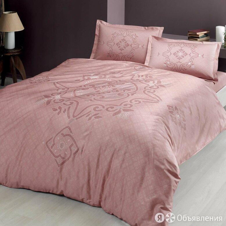Постельное белье TAC BRUNA евро пудра по цене 5750₽ - Кровати, фото 0