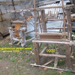 Другое - Старинный ткацкий станок деревянный ручной работы, 0