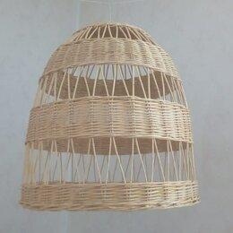 Люстры и потолочные светильники - Светильник люстра плетеная, 0