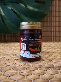 Приборы и аксессуары - Красный жгучий бальзам для тела с перцем Чили…, 0