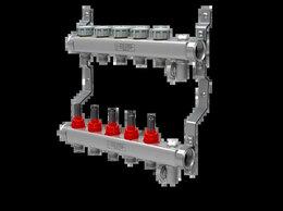 Комплектующие для радиаторов и теплых полов - Коллектор с расходомерами для теплого пола,…, 0