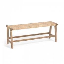 Банкетки и скамьи - Скамья деревянная светло-коричневая из массива…, 0