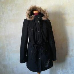 Пальто - Стильная парка куртка тёплая легкая, 0