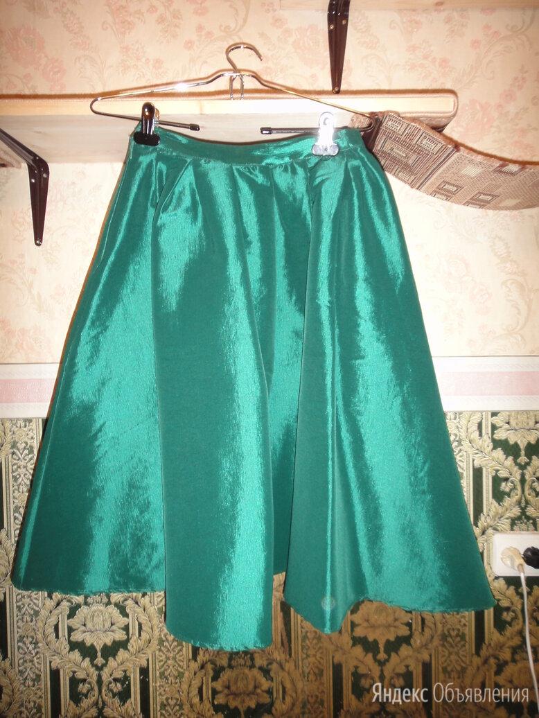 Ярко-зеленая юбка-колокол по цене 800₽ - Юбки, фото 0