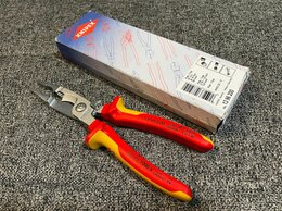 Клещи и бокорезы - Новые электромонтажные клещи Knipex 1396200, 0