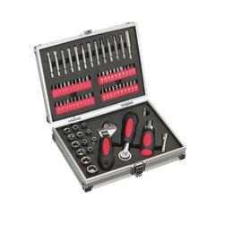 Торцевые головки и ключи - Набор инструмента в подарочной упаковке (71 пред.), 0