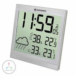 Метеостанции, термометры, барометры - Метеостанция BRESSER TemeoTrend JC, серебристый, 0