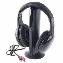Наушники и Bluetooth-гарнитуры - Беспроводные радио-наушники для тв 5в1 + FM…, 0