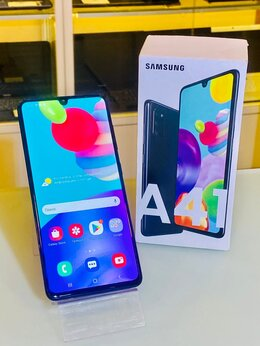 Мобильные телефоны - Samsung A41 в отличном состоянии, 0