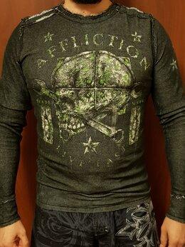 Свитеры и кардиганы - Нов.двусторонний пуловер Affliction XL, 0