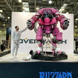 Модели - Полноразмерный робот МЕКА из игры Overwatch, 0