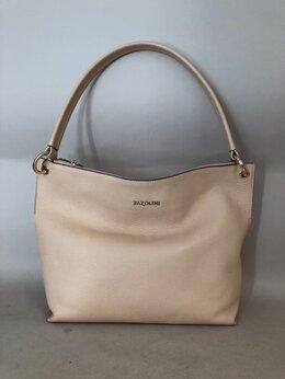 Сумки - Новая женская сумка, цвет светло-бежевый, pazolini, 0