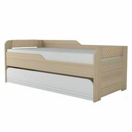 Кровати - Кровать 2-Уровневая Стиль.Кофе (900.1), 0
