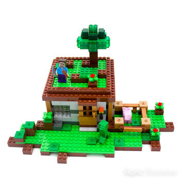 Лего майнкрафт по цене 2190₽ - Конструкторы, фото 0