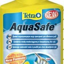 Инвентарь для обслуживания аквариумов - Tetra AquaSafe кондиционер для подготовки воды аквариума 100 мл, 0