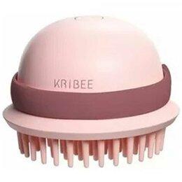 Вибромассажеры - Массажная расческа антистатическая Xiaomi Kribee IPX7, розовый, 0