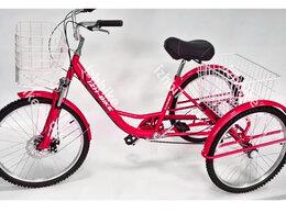 Велосипеды - Велосипед трехколесный взрослый 6 скор. 24'' от…, 0