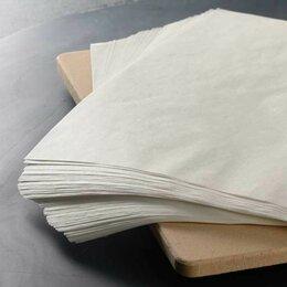 Фольга, бумага, пакеты - Оберточная бумага 390х390 мм белая для…, 0