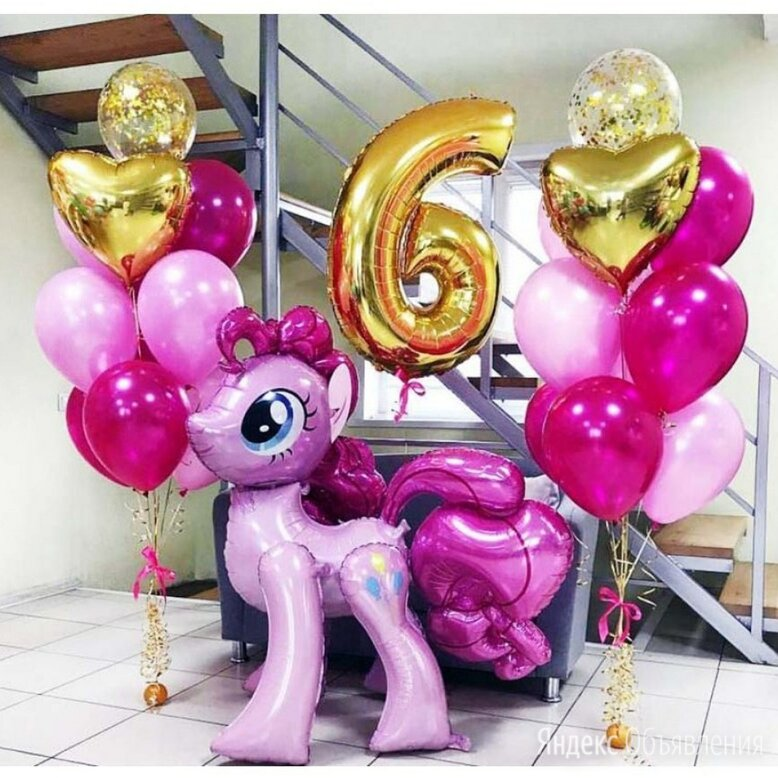 Набор шаров №33 по цене 4700₽ - Воздушные шары, фото 0