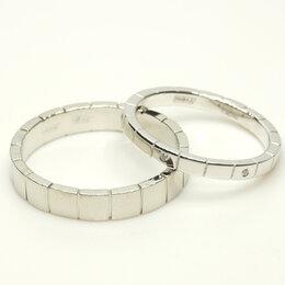 Кольца и перстни - Обручальные кольца из платины и белого золота с…, 0