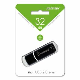 USB Flash drive - USB 32 GB Smat Buy Crown Black, 0