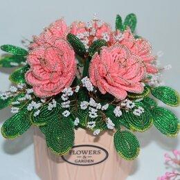 Рукоделие, поделки и сопутствующие товары - Цветы из бисера. Розы из бисера., 0