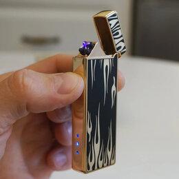 Пепельницы и зажигалки - Зажигалка USB пламя, 0