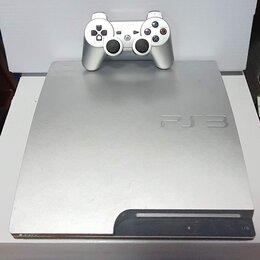 Игровые приставки - PS3 Slim. 30 игр. 320 Gb. Вариант 10. Лицензия, 0