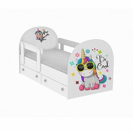"""Кроватки - Кровать детская односпальная """"Будь круче!"""", 0"""