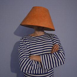 Люстры и потолочные светильники - Абажур на люстру (Плафон Текстильный), 0