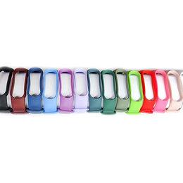 Аксессуары для умных часов и браслетов - Ремешки для Xiaomi Mi Band 5, Mi Band 6 разные цвета, 0