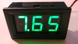 Измерительные инструменты и приборы - Цифровой Вольтметр  0,56 (5-30V)(зеленый), 0