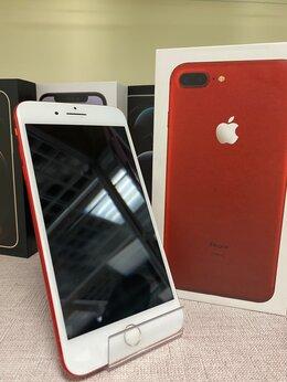 Мобильные телефоны - iPhone 7 Plus Red 128gb б/у Ростест, 0