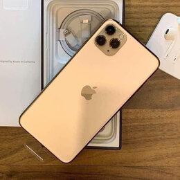 Мобильные телефоны - iPhone 11 Pro Max Gold 512gb новые Ростест, 0