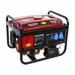 Электрогенераторы - Генератор бензиновый DDE GG3300E, 0