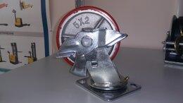 Инструментальные тележки - Колесо 125 мм с тормозом массивные конструкции,…, 0