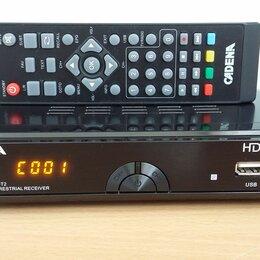 ТВ-приставки и медиаплееры - Приставка для цифрового ТВ CADENA HT-1658 DVB-T2, 0