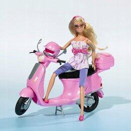 "Куклы и пупсы - Новая Кукла Simba ""Штеффи на скутере"", 0"