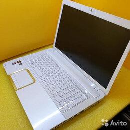 """Ноутбуки - Роскошный 17"""" Toshiba в белом цвете, 0"""