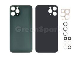 Корпусные детали - Задняя крышка для iPhone 11 Pro (зеленый) со…, 0