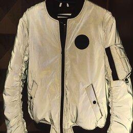 Куртки - Светоотражающая куртка pull bear мужские, 0